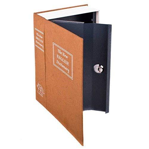 Cassaforte a libro XL Buchsafe Safe Cassa Cassaforte a libro come manichino per libri