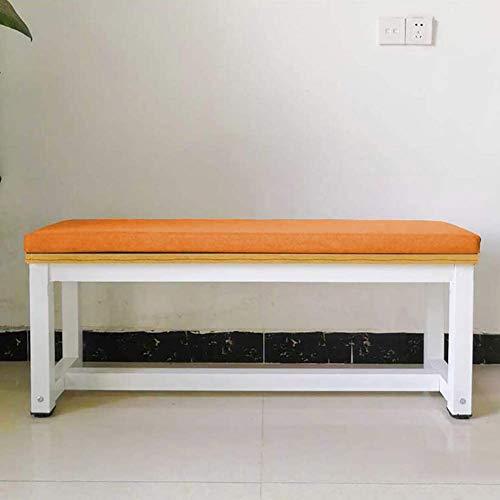 LRuilo - Cojín largo de 5cm de grosor para asiento de banco, muebles de jardín o columpios de de 2 o 3plazas, apto para interiores y exteriores
