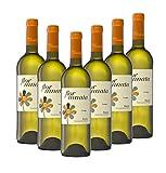 Añada Flor Innata Caja de 6, Vino Blanco Verdejo Rueda Valdecuevas, x6, 750 ml, Coupage Verdejo y Sauvignon Blanc 6 botellas