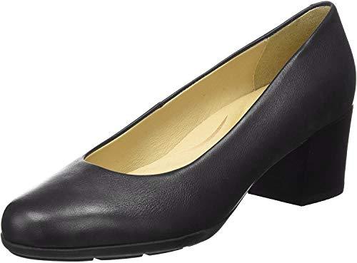 Geox D ANNYA Mid B, Zapatos de Tacón para Mujer, Negro (Black), 39 EU