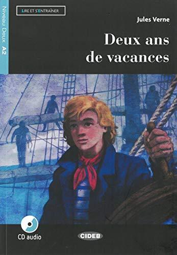 Deux ans de vacances. Französische Lektüre für das 2. und 3. Lernjahr. Lektüre + Audio-CD