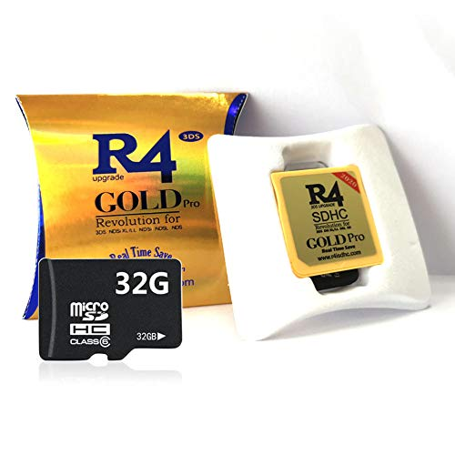 2019 Gold Pro & 32 GB Micro SD-Karte, DS / DS Lite / DSi / DSi XL / 3DS / 2DS - 5-sprachiger ES / IT / DE / FR / UK-Kernel herunterladen