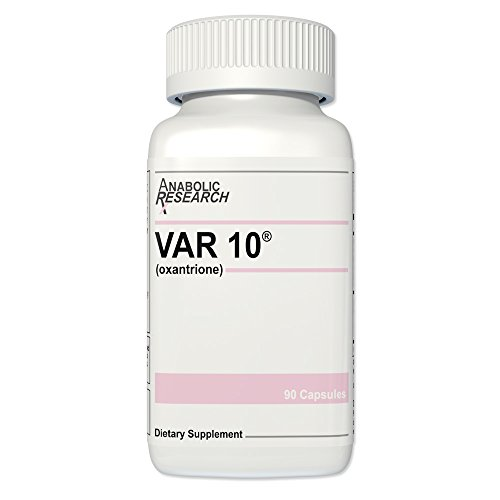 VAR 10® (Testosterone Enhancement) - Increase Speed & Strength, Lean Muscle Building & Toning - 1 Month Supply from Anabolic Research™