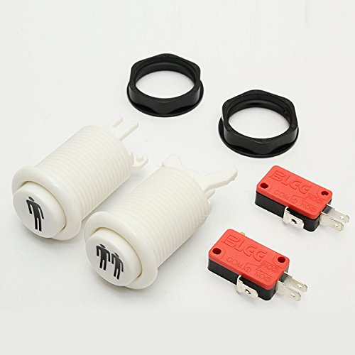 GOZAR 30mm 2 speler drukknopen voor Arcade Joystick PC Games onderdelen