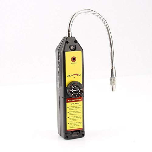Detector de fugas Aramox, probador de fugas halógeno Detector de fugas de refrigerante de gas halógeno R134a R410a R22a CFC Detector de HCFC de HFC