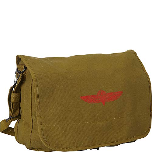 Fox Outdoor Products Israeli Paratrooper Bag, Olive Drab