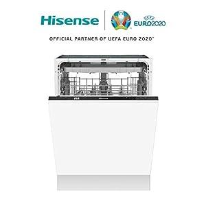 Hisense HV60340 Geschirrspüler vollintegriert / 60 cm / A++ / 14 Maßgedecke / Besteckschublade / ECO-Programm / Kurzprogramm