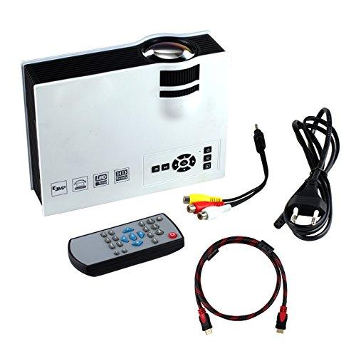 Tera UNIC UC40 Mini Proyector Portátil Multimedia 1080P HD con ...