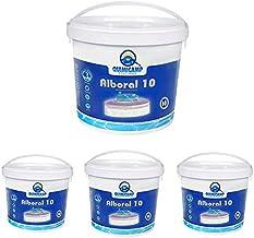 QUIMICAMP - 4 Unidades Alboral 10 Efectos Tabletas 250gr, 5 kg