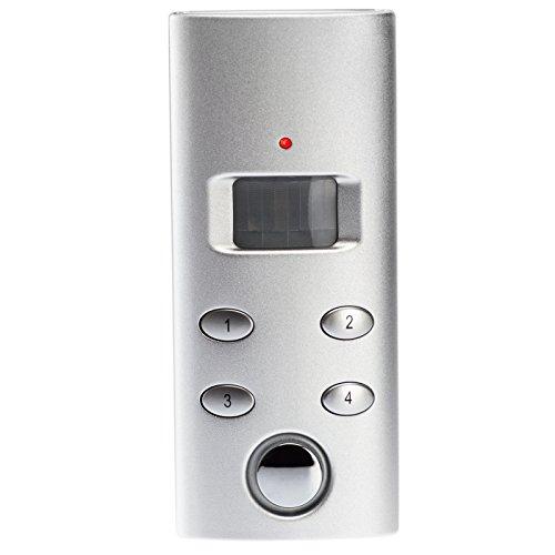 KOBERT GOODS – drahtloser Tür-, Fenster- oder Vitrinenalarm SP62 Einsatz als Alarmanlage, Einbruchsschutz, Home-Security Mit PIN-Code-Eingabe sowie 130 db-Alarm [Energieklasse A]