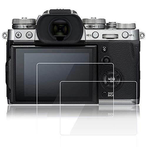 AFUNTA - Protectores de Pantalla para cámara Fujifilm X-T3 (2 Unidades, antiarañazos, Vidrio Templado, dureza 9H, Protectores de Pantalla)