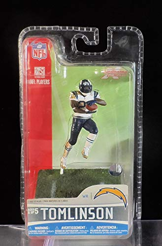 McFarlane Toys NFL 3 Inch Sports Picks Series 5 Mini Action Figure LaDainian Tomlinson 2 (San Diego Chargers)