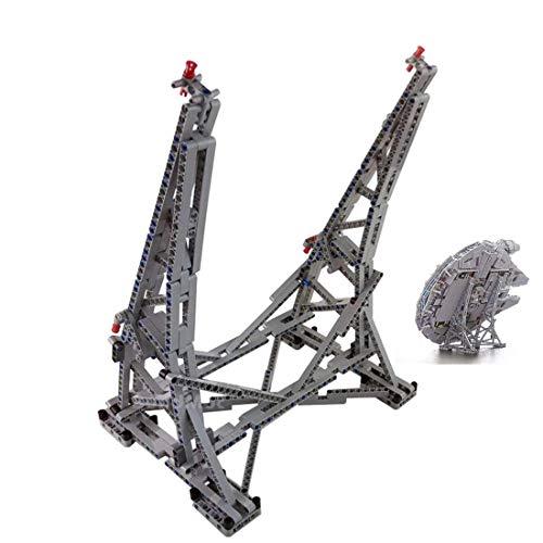 MAJOZ 407 Stück Custom Bausteine Halterung Ständer Für Lego Star Wars Millennium Falcon 75192 (Lego Modell Nicht Enthalten)