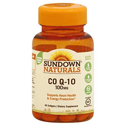 Sundown Q-Sorb CoQ-10 100 mg Softgels 30 Soft Gels (Pack of 4)