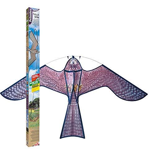 Defenders VIC0328 Hawk Kite-Deterrente per Uccelli, Grigio, 5x10x110 cm