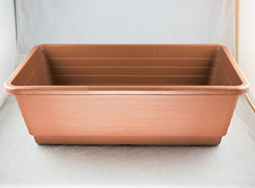 Japanese Plastic Bonsai Training Pot / Flower Garden Planter 18'x 10.5'x 5.75'