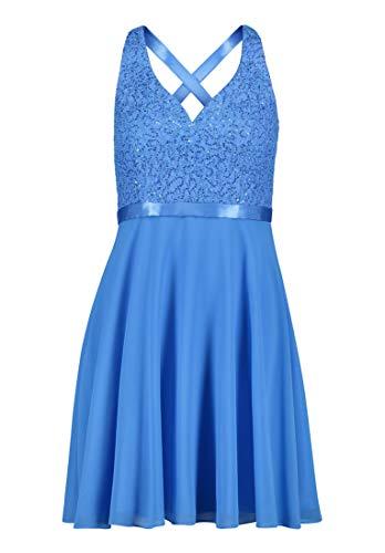 Vera Mont Damen 8067/4000 Kleid, Blau (Brilliant Blue 8237), (Herstellergröße: 34)