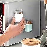 PPuujia Práctico soporte magnético para palillos de dientes, portátil, caja de palillos de...