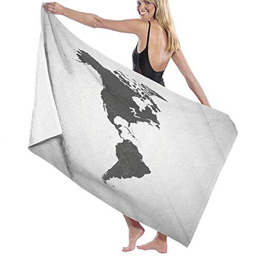 Toalla de baño extragrande de 80 x 130 cm, suave y altamente absorbente, ideal para viajes diarios, camping, gimnasio, piscina, playa, Cart sillas, talla única