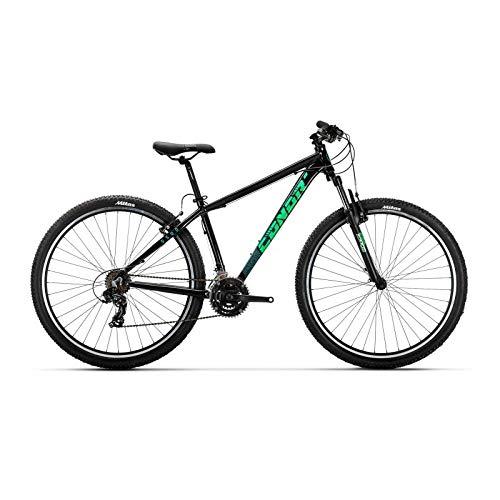 "Conor 5500 29"" Bicicleta, Adultos Unisex, Negro/Verde (Multicolor), M"