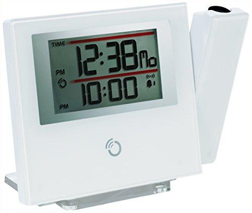Oregon Scientific RM-368-P Despertador, Blanco