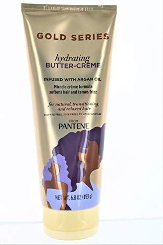Pantene Gold Series Crème Hydratante Butterworths 6.8 Tube Ounce (201ml) (2 Pack)