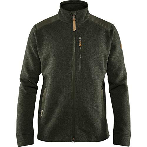 FJÄLLRÄVEN Singi Fleece Jacket M Sweat-Shirt Homme, Deep Forest, FR : M (Taille Fabricant : M)