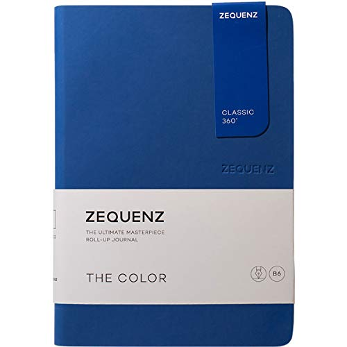 Zequenz Classic 360 The Color B6 Notebook, Dotted, Royal Blue