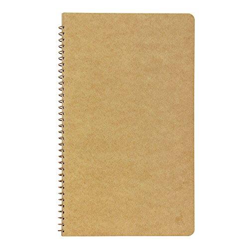 1 X Midori-spiral ring notebook camel blank notebook Photo #3