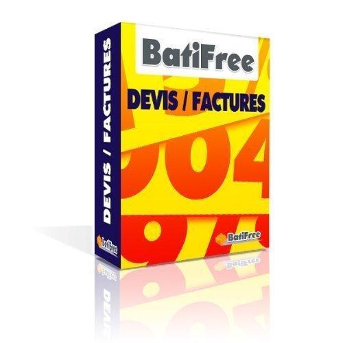 BatiFree Devis-Factures Bâtiment - Livraison par email clef pour téléchargement