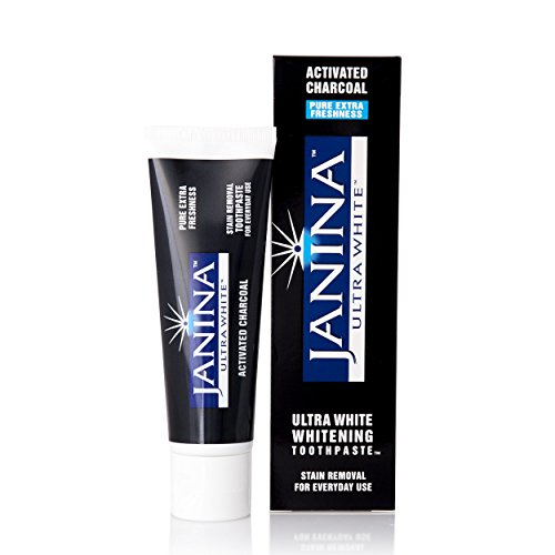 Janina Ultra White Activated Charcoal Whitening Toothpaste
