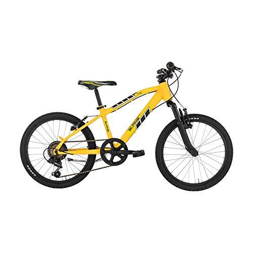 Alpina Bike Flip, Biciletta Mountain Bike Ragazzo, Giallo, 20