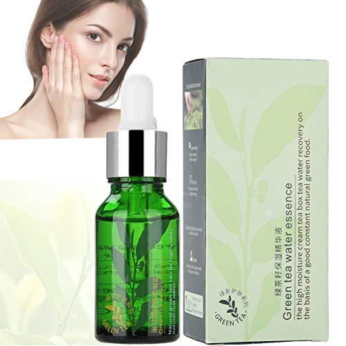Essence hydratante au thé vert, essence, texture délicate, amélioration de la peau sèche, essence de sécurité naturelle