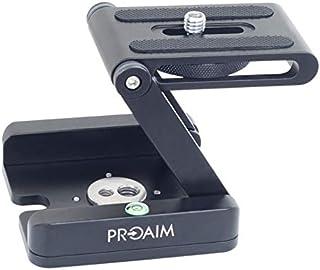 Proaim Folding Camera Z Flex Tilt Head Desktop Stand Holder(MS-037-00) Proaim MS-037-00 DSLR Camera Foldable Z Tripod Flex...
