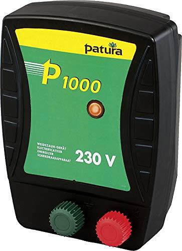 Patura Weidezaungerät P 1000-230 Volt - Kontrollanzeige für Gerätefunktion - nutzbar für viele Tiere
