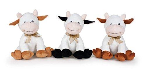 Famosa - Animales de Peluche 760016762. Vaca de Peluche. Modelo Aleatorio.
