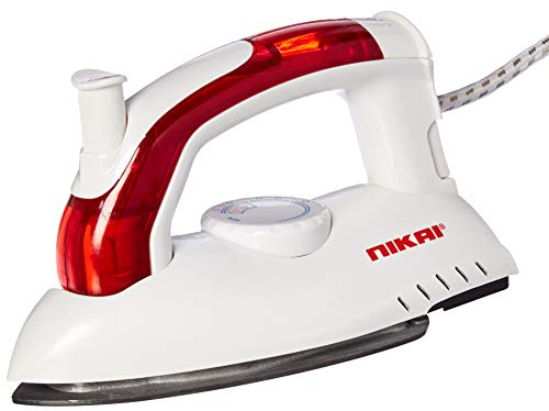 Best Buy! Nikai NSI7911 Steam Iron-750 Watt Power 220-240 Volt 50 Hz (Will not Work in USA)
