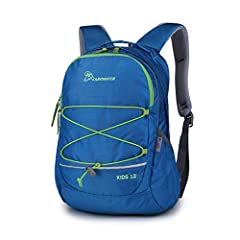 """-YKK zippers: open and close smoothly -Comfortable Shoulder Straps and padding -Name Tag let your child to write down you own number or message. -Soft front loop with adjustable toggle for your jacket or other lightweight items -Size: 15""""X 11.4""""X 5.9..."""