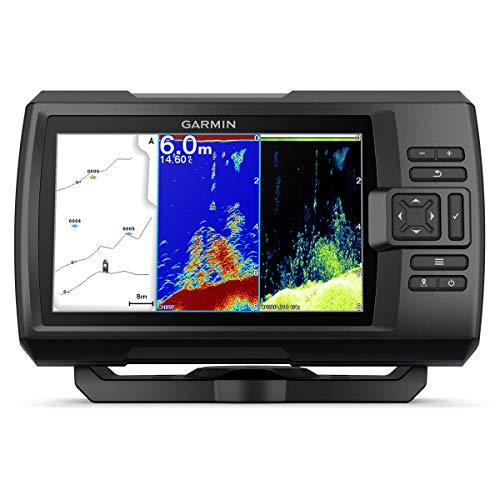Striker Vivid Fischfinder Displaygröße 7 Zoll, Echolot integriertes Chirp und ClearVü, einschließlich Geber Ja, GT20-TM