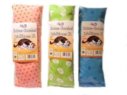Zoobest Spielkissen/Schmusekissen für Katzen XL 1 Stück verschiedene Designs