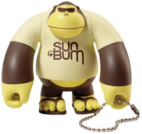 Sun Bum Sonny 3' Figure Key Chain