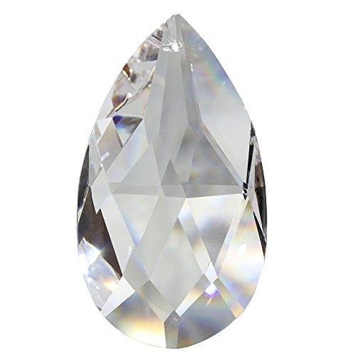 Christoph Palme Leuchten 4X Kristall Sonnenfänger Rautenwachtel 50mm Facette Tropfen Regenbogenkristall Feng Shui Waldorf Bleikristall Drachenträne Wachtel