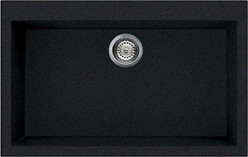 Elleci Quadra 130 Lavello, Antracite 59, 79x50x21 cm