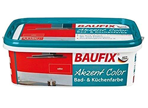 Baufix accent color salsa anti-moisissure pour salle de bain et küchenfarbe schimmelfarbe vernis couleur
