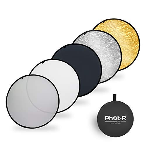 5 in 1 Reflektoren Photostudio Outdoor Indoor doppelseitig Multi Color Video Cam