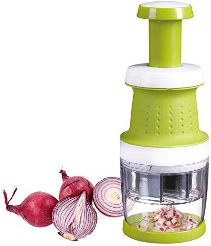 Tritatutto manuale Durandal | Affetta verdure e frutta universale | Accessori cucina trita verdure | Accessori cucina | Taglia verdure a pressione