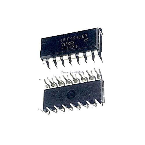 10pcs/lot IC Phase-Lock Loop MCPWR 16-DIP HEF4046BP