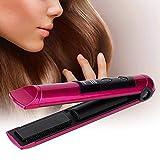 Plancha de Pelo Recargable Inteligente de Color Rojo Rosa Multifuncional Recargable Mini Plancha de Pelo de Moda Herramienta de Peinado para niñas