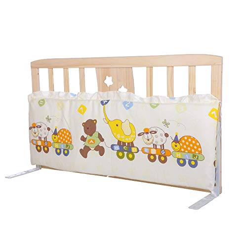 Majome Baby Bed Bumper Pure Weaving Plush Knot Crib Bumper Kids Bed Baby Crib Protecting Decor