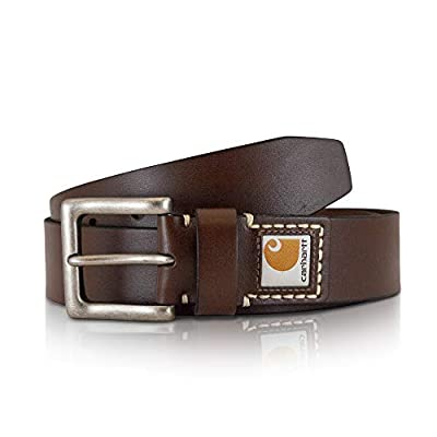 Carhartt Men's Casual Belt, Legacy Brown, 34
